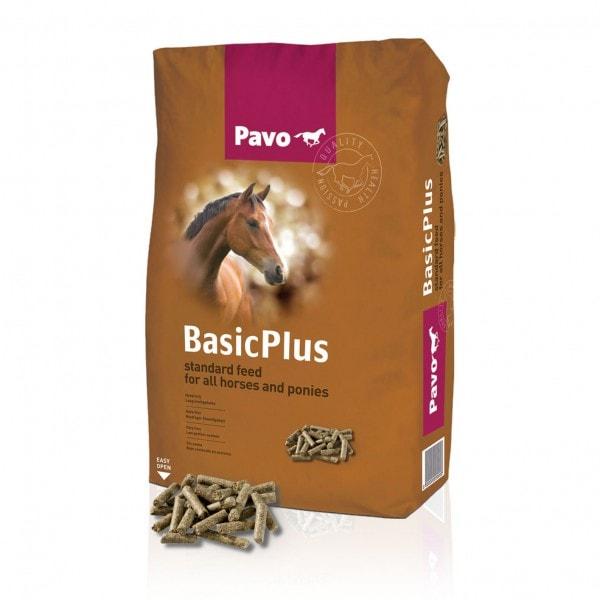 """Pavo Basic Plus """"Haferfreie Basispellets für alle Pferde und Ponys"""" 20 kg"""