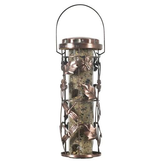 """WOODSTREAM Perky-Pet Copper Garden """"Kupfer Garten Futtersäule"""" Modell 550 (Lieferung ohne Futter)"""