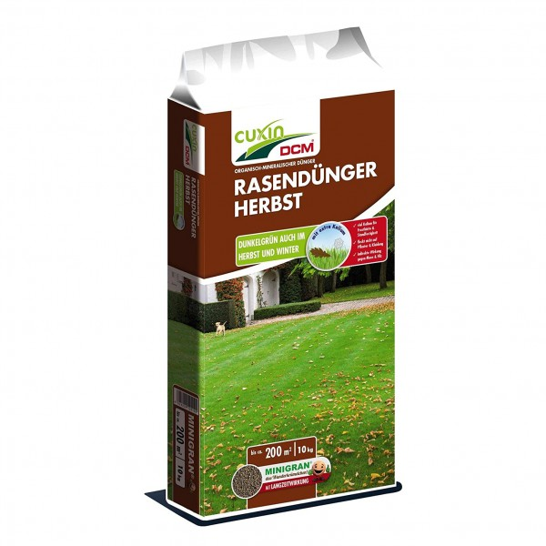 Cuxin Rasendünger Herbst 10 kg für 200 m²