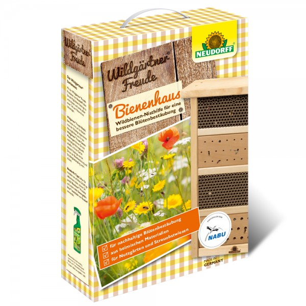 WildgärtnerFreude Bienenhaus