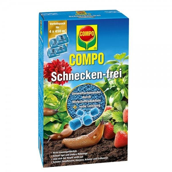 COMPO Schnecken-frei 4 x 225 g