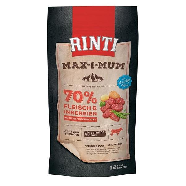 Rinti - Max-i-Mum Trockenfutter mit Rind 12 kg