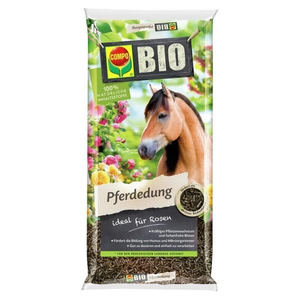 COMPO BIO Pferdedung ideal für Rosen 12 kg / 240 m² Beutel