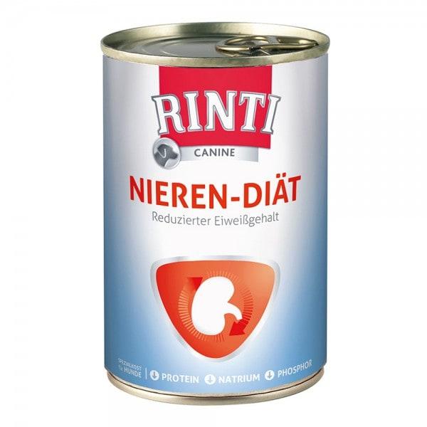 RINTI CANINE Nieren-Diät (Reduzierter Eiweißgehalt) 400 g Dose