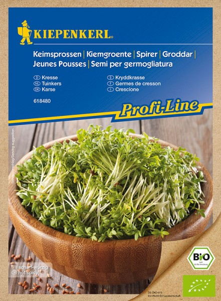 Kiepenkerl Bio-Keimsprossen Kresse 60 g