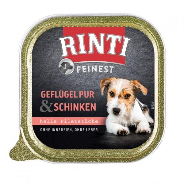 Rinti Feinest Geflügel pur & Schinken 150 g Schale