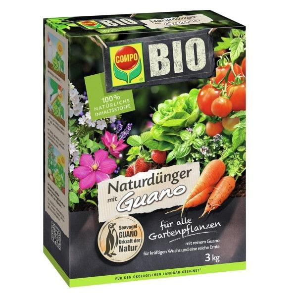 COMPO BIO NaturDünger mit Guano 3 kg