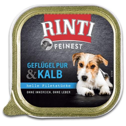 Rinti Feinest Geflügel pur & Kalb 150 g Schale