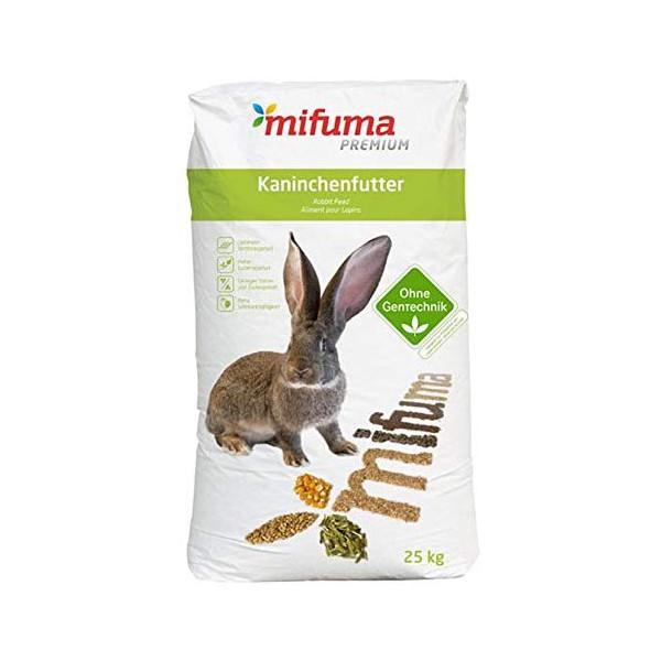 Kaninchenfutter Mifuma Kombi 25 kg