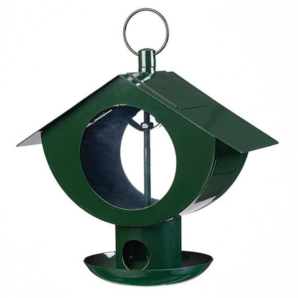 Peacock 23123 Hochwertiges Vogelhäuschen grün