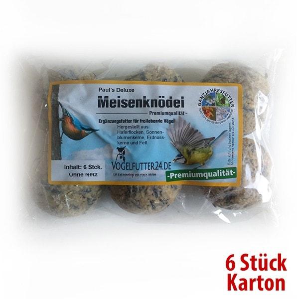 Paul´s Deluxe Meisenknödel - ohne Netz - 6 Stück (Sauerland)