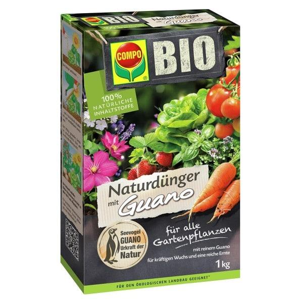 COMPO BIO NaturDünger mit Guano 1 kg