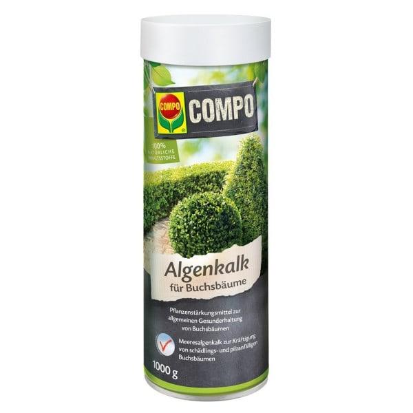 COMPO Algenkalk für Buchsbäume 1 kg Streudose