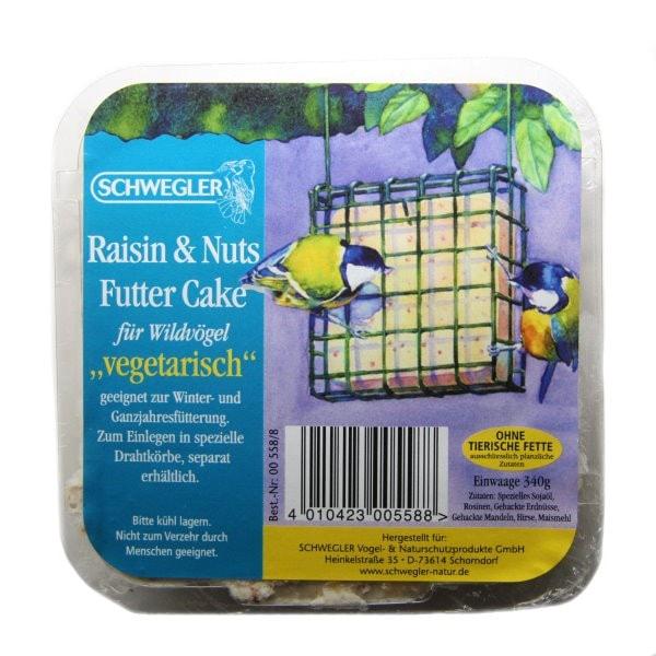 Schwegler Raisins & Nuts Cake Futtergemisch 340 g 00558/8
