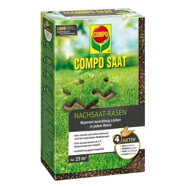 COMPO SAAT® Nachsaat-Rasen 500 g 25 m² Schachtel