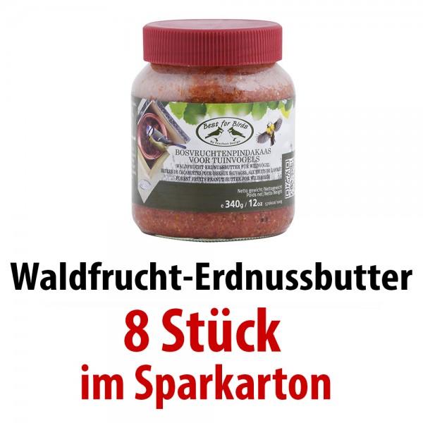FB428 Waldfrucht-Erdnussbutter 8 Gläser im SPARKARTON je 340 g
