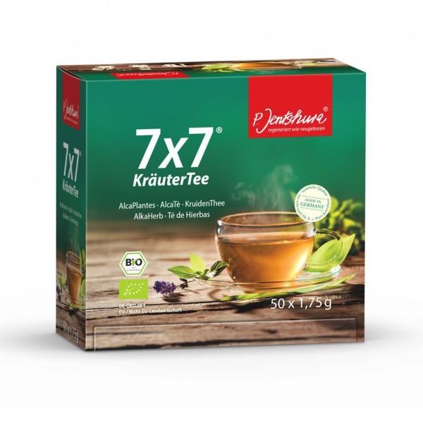 P. Jentschura 7x7 Kräutertee 50 Beutel á 1,75 g