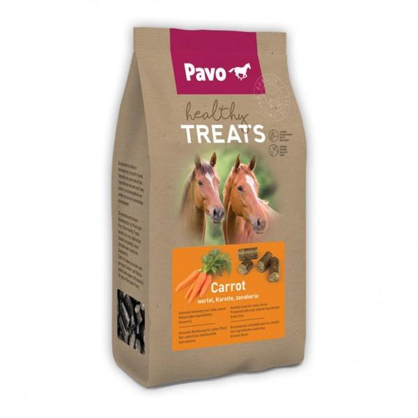 Pavo Healthy Treats GESUNDE UND SCHMACKHAFTE PFERDELECKERLIS Karotte 1 kg
