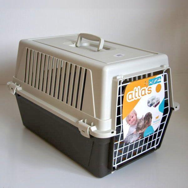 ferplast transportbox atlas 30 kissen und napf. Black Bedroom Furniture Sets. Home Design Ideas