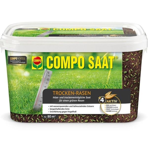 COMPO SAAT® Trocken-Rasen 2 kg 80 m² Eimer