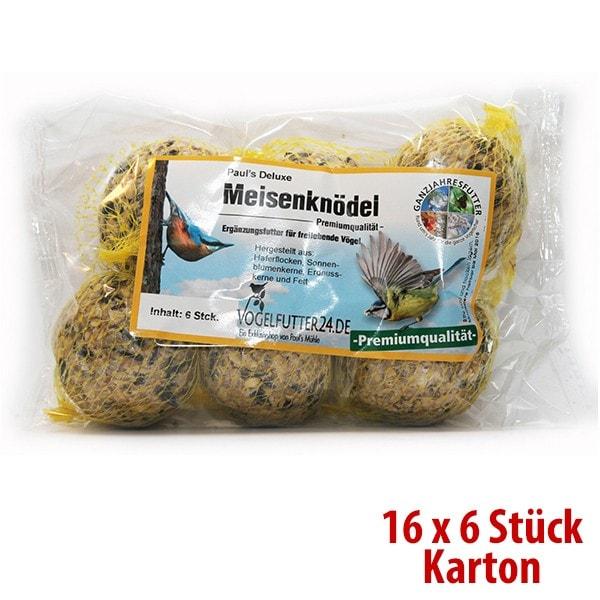Paul´s Deluxe Meisenknödel (Sauerland) - Premiumqualität 16 x 6 Stück im SPARKARTON