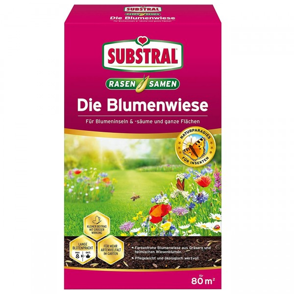 SUBSTRAL® Die Blumenwiese 800 g für 80 m²