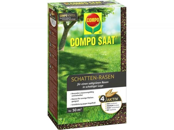 COMPO SAAT® Schatten-Rasen 1 kg 50 m² Schachtel