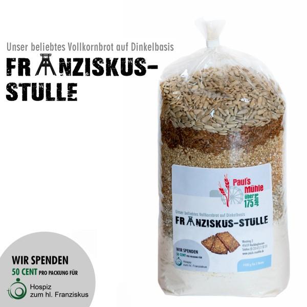Spenden-Aktion FRANZISKUS-STULLE: Pauls Mühle Dinkel-Brotmischung, 1450 Gramm