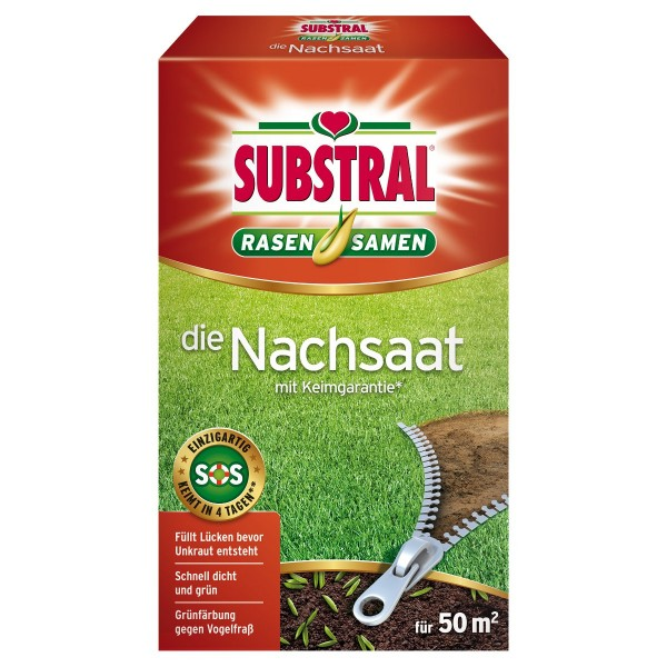 SUBSTRAL® Die Nachsaat 1 kg für 50 m²