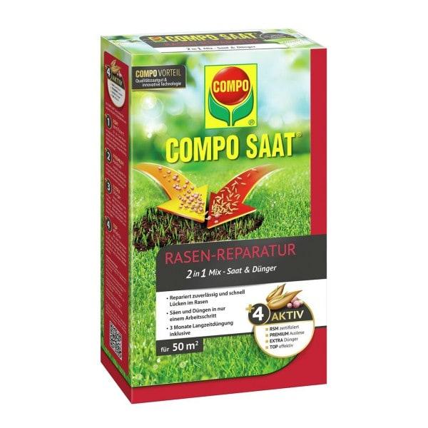 COMPO SAAT® Rasen-Reparatur-Mix 1,2 kg / 50 m²
