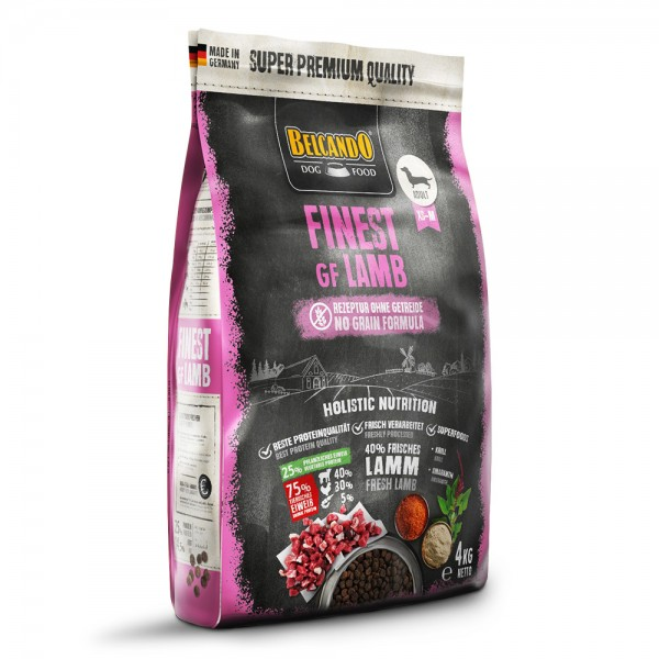 BELCANDO® FINEST GF LAMB 4 kg