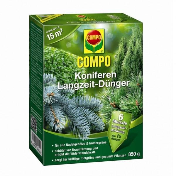 COMPO Koniferen Langzeit-Dünger 850 g Schachtel