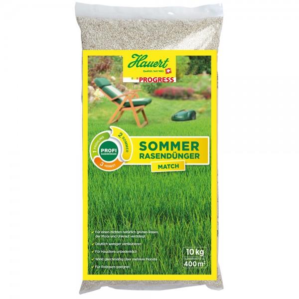 Hauert Progress Sommer Rasendünger Match 10 kg für ca. 400 m²