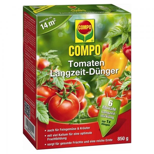 COMPO Tomaten Langzeit-Dünger 850 g Schachtel