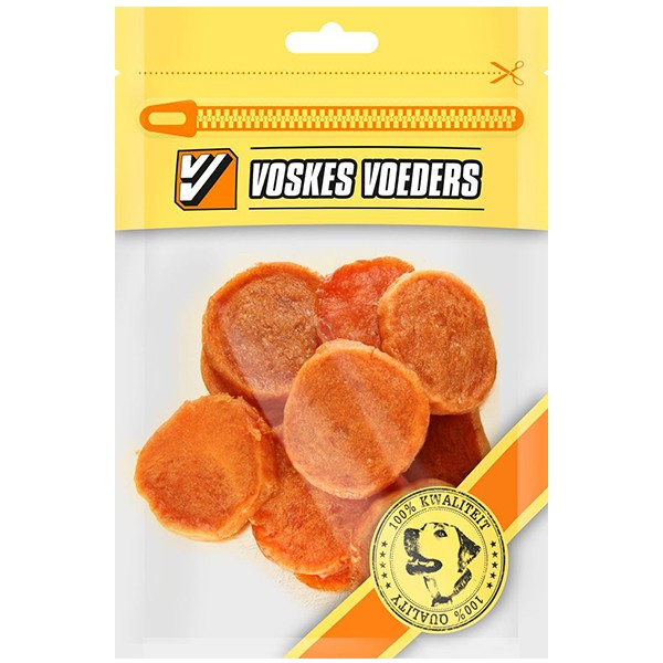 Hunde-Snack Hühner Scheiben 100 g