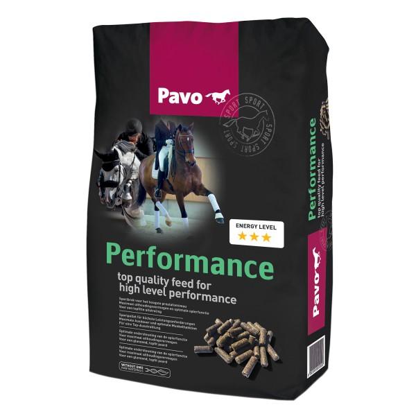 Pavo Performance SPORTPELLET FÜR HÖCHSTLEISTUNGEN 20 kg