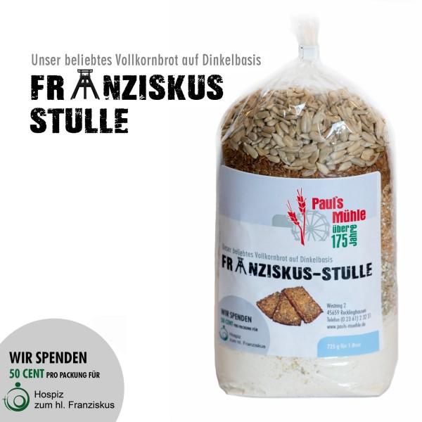 Spenden-Aktion FRANZISKUS-STULLE: Pauls Mühle Dinkel-Brotmischung, 725 Gramm