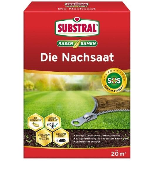 SUBSTRAL® Die Nachsaat 400 g für 20 m²