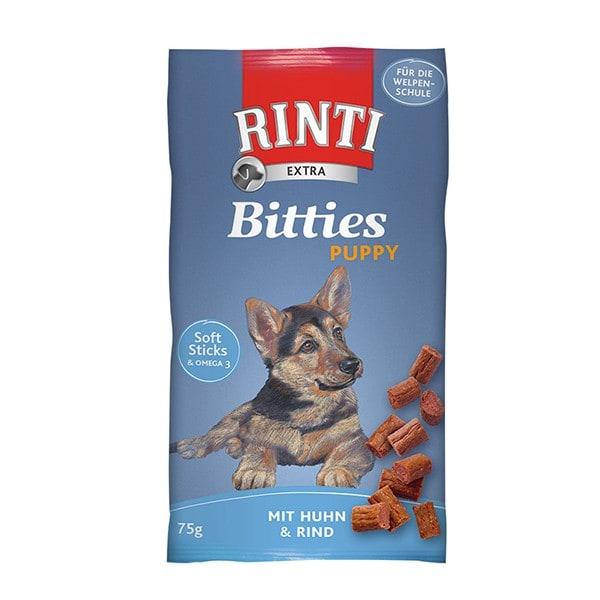 Rinti Extra Bitties Puppy Huhn & Rind 75 g