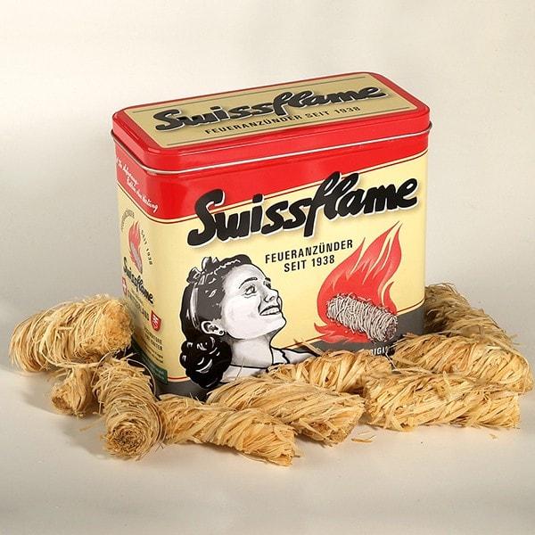 Swissflame Flammator Nostalgiebox ca. 50 Stück 600g