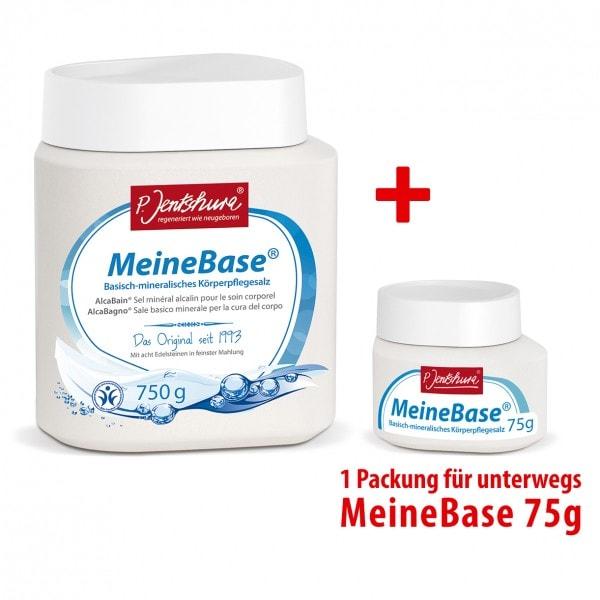 P. Jentschura Meine Base 750 g + Meine Base 75 g