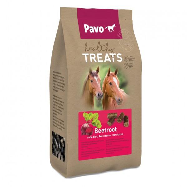 Pavo Healthy Treats GESUNDE UND SCHMACKHAFTE PFERDELECKERLIS Rote Beete 1 kg