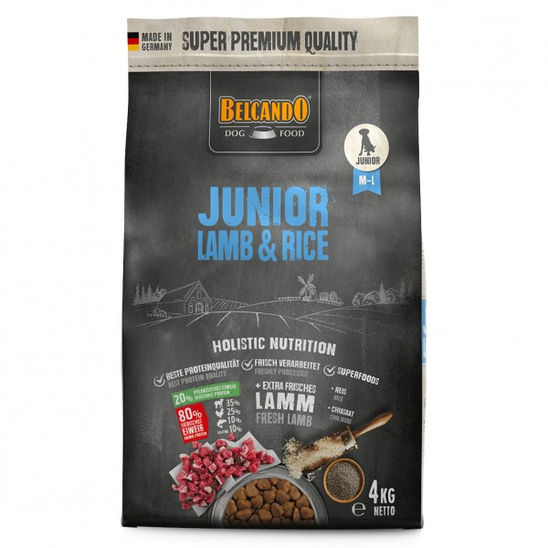 BELCANDO® JUNIOR LAMB & RICE 4 kg