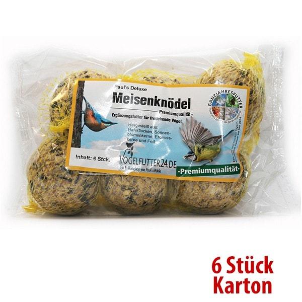 Paul´s Deluxe Meisenknödel - Premiumqualität - 6 Stück 500 g (Sauerland)