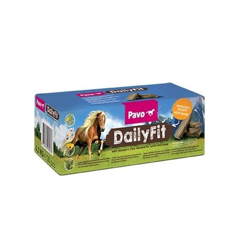 """Pavo DailyFit """"Schmackhaftes Mineralbrikett mit Blüten und Kräutern"""" 4,2 kg NEU"""