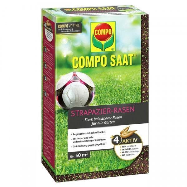 COMPO SAAT® Strapazier-Rasen 50 m² Schachtel