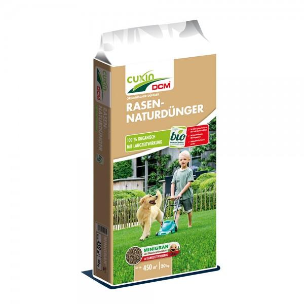Cuxin DCM Rasen-Naturdünger 20 kg für 450 m²