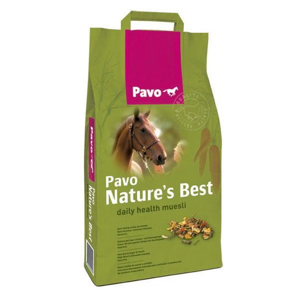 """Pavo Nature´s Best Müsli """"Das tägliche Gesundheitsmüsli"""" Haferfrei und besonders wenig Zucker 3 kg"""