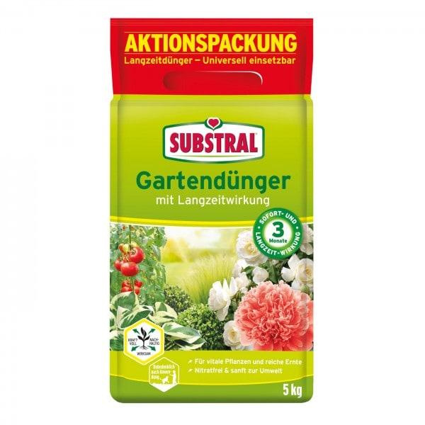 Substral Gartendünger mit Langzeitwirkung 5 kg