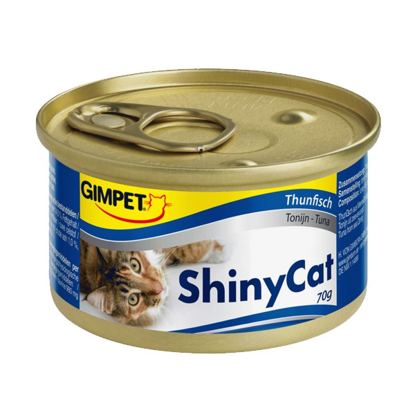 Gimpet Shiny Cat mit Thunfisch 70 g Jelly